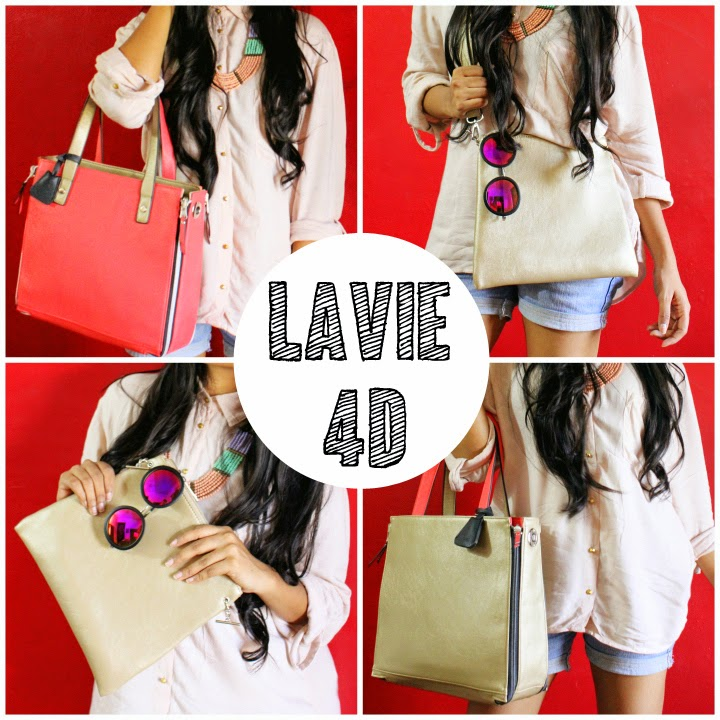 Lavie 4D – One Bag Four Ways
