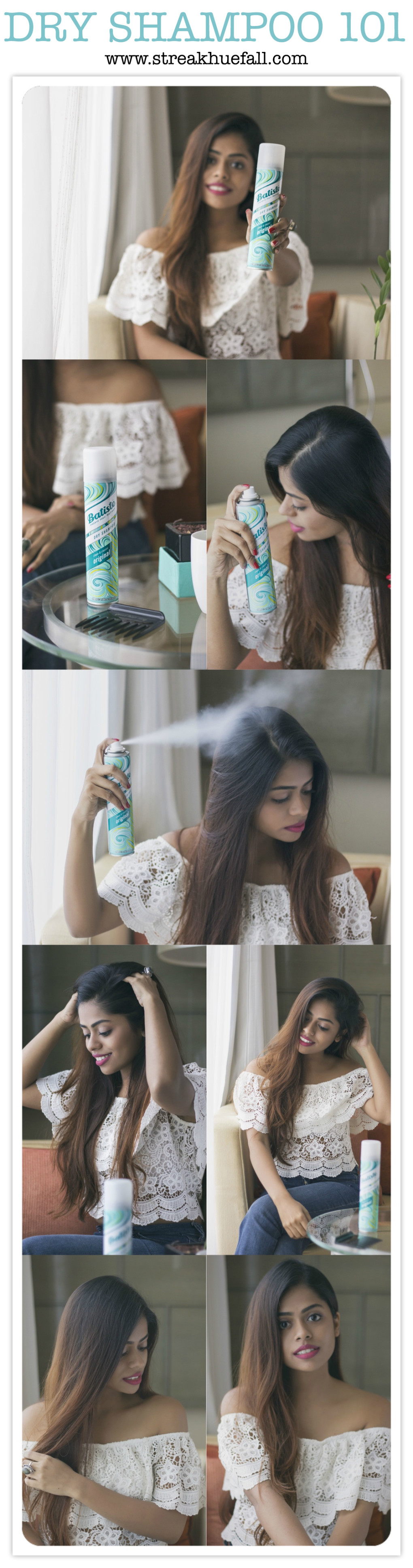Dry Shampoo 101 with Batiste